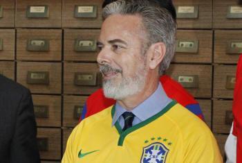 Embaixador do Brasil junto à ONU, Antonio Patriota. Foto: ONU