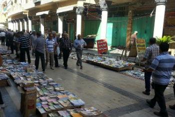 Rua em Bagdá. Foto: Unami/Sarmad Al-Safy