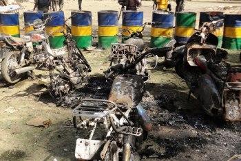 Aldeias atacadas pelo Boko Haram. Foto: IRIN/Aminu Abubakar
