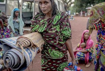 Insegurança na República Centro-Africana obriga população a abandonar as suas casas. Foto: Acnur/F. Noy