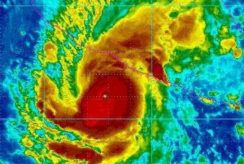 Efeitos do El Niño. Imagem: OMM