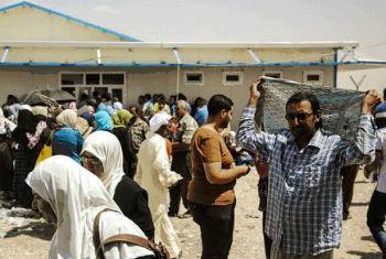 Iraquianos deixam Mossul rumo a Erbil. Foto: Acnur/Rocco Nuri