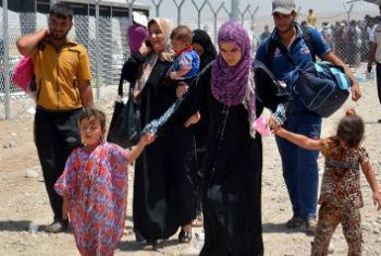 Milhares fogem por causa da violência no Iraque. Foto: Acnur/Inge Colijn