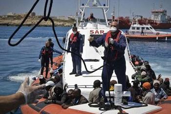Maior parte dos migrantes vem da Líbia. Foto: Acnur