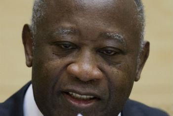 Laurent Gbagbo. Foto: ONU/ICC/AP Pool/Peter Dejong