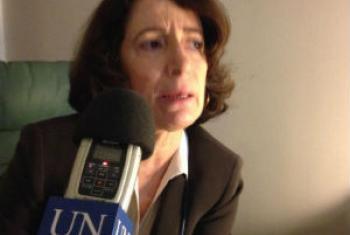 Marcela Nicodemus. Foto: Rádio ONU