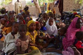 Proteção de crianças na Nigéria. Foto: Acnur.