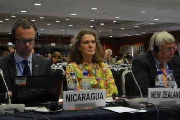Delegações participam de evento em Mapuito. Foto: Rádio ONU/Ouri Pota