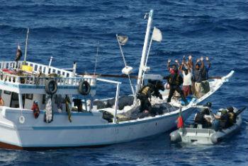 Combate à pirataria. Foto: OMI