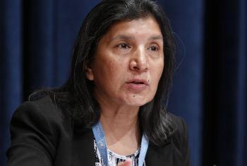 Rashida Manjoo. Foto: ONU/Paulo Filgueiras
