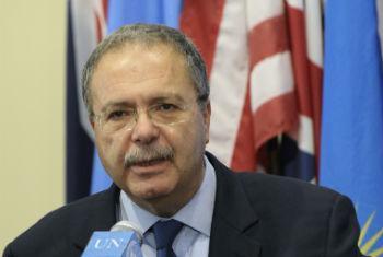 Tarek Mitri. Foto: ONU/Evan Schneider