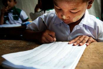 Direito à educação. Foto: Unesco
