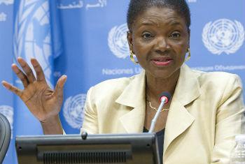 Valerie Amos. Foto: ONU/Eskinder Debebe
