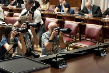 Jornalistas foram libertados nesta quinta-feira. Foto: ONU/ Jean-Marc Ferré