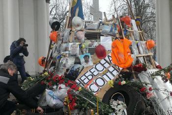 Violência na Ucrânia. Foto: ONU