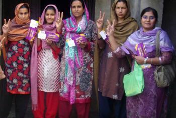 Mulheres do Paquistão. Foto: ONU Mulheres