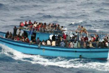 Embarcações inseguras. Foto: Acnur
