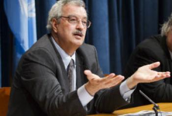 Braulio Ferreira de Souza Dias. Foto: ONU/Rick Bajornas