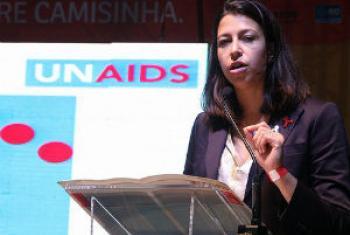 Georgiana Braga-Orillard. Foto: Unaids Brasil