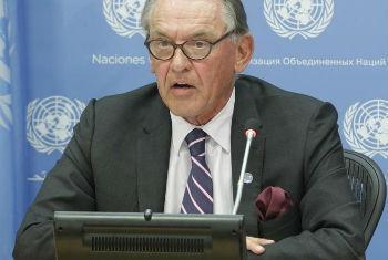 Jan Eliasson Foto: ONU/Loey Felipe