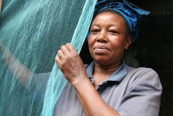 Eliminação da malária. Foto: OMS/S. Hollyman