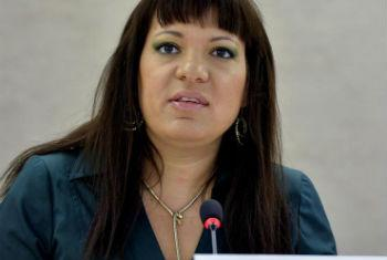 Rita Izsák. Foto: ONU/Jean-Marc Ferré