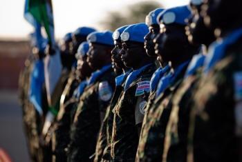 Soldados da Unamid. Foto: Unamid.