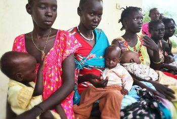 Fome no Sudão do Sul. Foto: Unicef