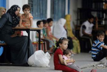 Cessar-fogo temporário em Gaza. Foto: Unicef/Eyad El Baba