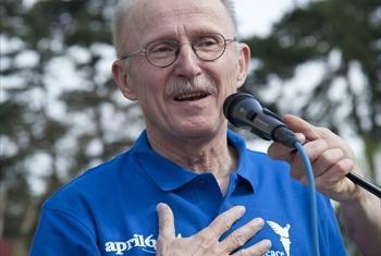 Wilfried Lemke. Foto: ONU/Sushma Janardhana