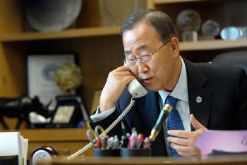 Ban Ki-moon Foto: ONU/M. Garten