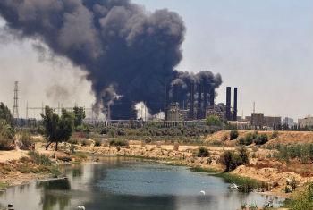 Violação do cessar-fogo em Gaza. Foto: ONU/Shareef Sarhan