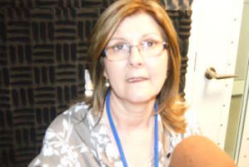 Maria Suelí Periotto. Foto: Rádio ONU