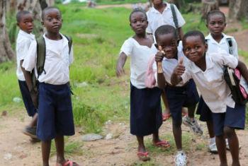 Crianças na República Democrática do Congo. Foto: Monusco/Myriam Asmani