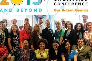 Parte dos organizadores da conferência. Foto: