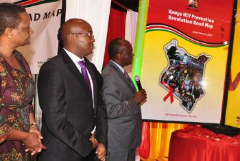 Lançamento da iniciativa no Quénia. Foto: Onusida