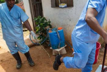 Combate ao ébola na Libéria. Foto: Unsmil/Staton Winter