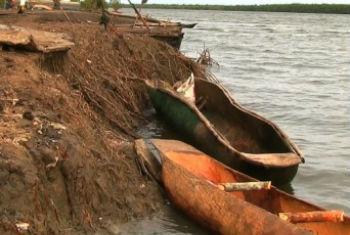 Degradação ambiental em Moçambique. Foto: Pnuma