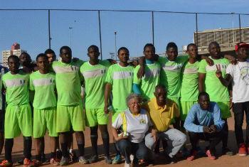 Copa dos refugiados no Brasil. Foto: Acnur Brasil