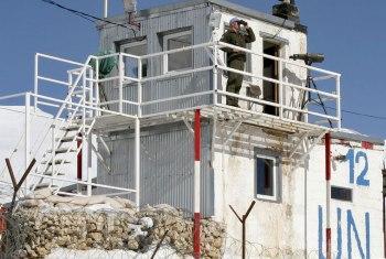 Posição da ONU em Golã. Foto: ONU Photo/Gernot Maier