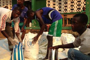 Ajuda japonesa ajuda Chade e República Centro-Africana. Foto: PMA/Djaounsede Madjiangar