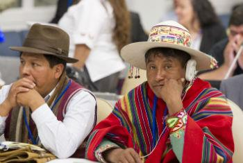 Sessão do Fórum Permanente sobre Assuntos Indígenas começa nesta segunda-feira.Foto: ONU/Eskinder Debebe (arquivo)