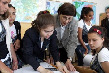 Atuação na área de educação em 72 países. Foto: Banco Mundial