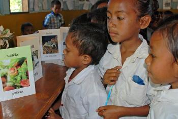 Crianças em Timor-Leste. Foto: Banco Mundial/João dos Santos
