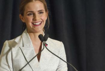 Emma Watson. Foto: ONU/Mark Garten