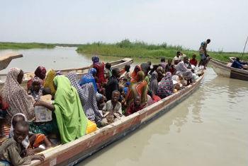 Refugiados nigerianos. Foto: Acnur