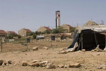 Assentamento de Israel na Cisjordânia.Foto: Ocha