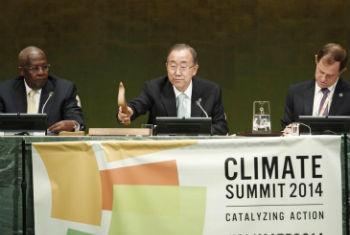 Cimeira do Clima 2014. Foto: ONU/Cia Pak