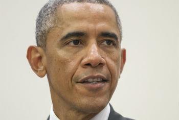 Barack Obama participa de reunião de alto nível sobre o ebola. Foto: ONU/Rick Bajornas