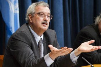 Bráulio Dias. Foto: ONU/Rick Bajornas